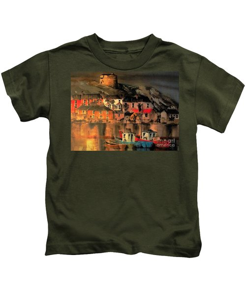 Howth Sunset Dublin Kids T-Shirt