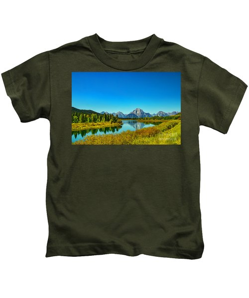 Mount Moran Kids T-Shirt