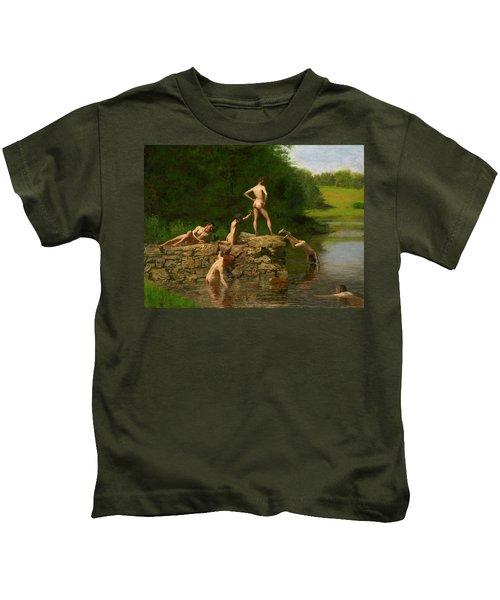Swimming Kids T-Shirt