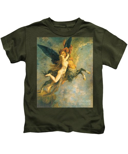 The Chimera Kids T-Shirt by Gustave Moreau