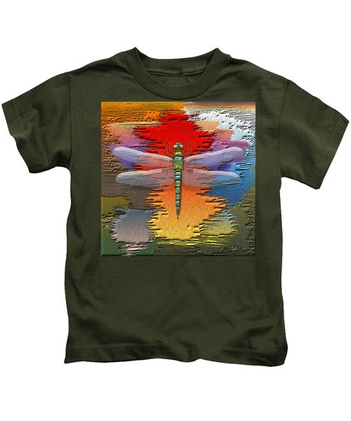 The Legend Of Emperor Dragonfly Kids T-Shirt
