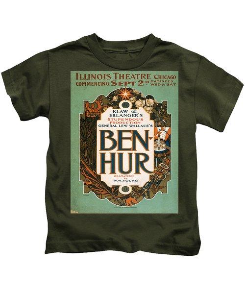 Vintage Poster - Ben-hur Kids T-Shirt