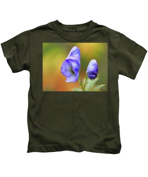 Wolf's Bane Flower Kids T-Shirt