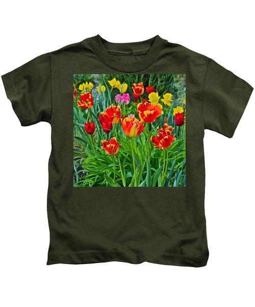 2015 Acewood Tulips 6 Kids T-Shirt