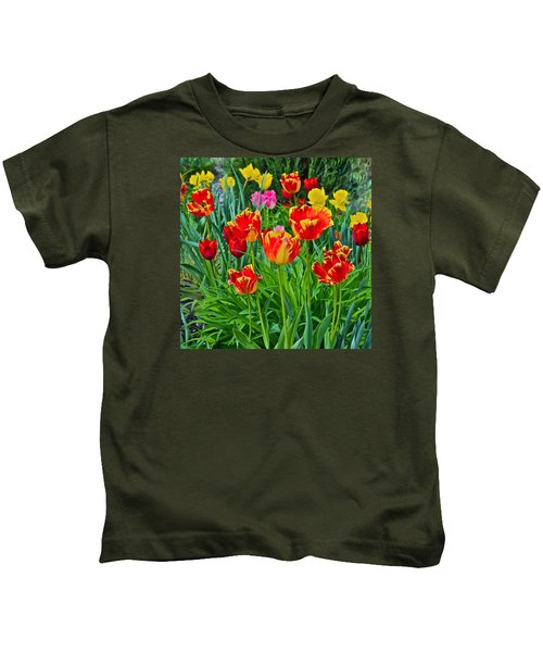 2015 Acewood Tulips 6 Kids T-Shirt