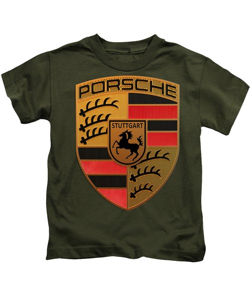 Porsche Label Kids T-Shirt