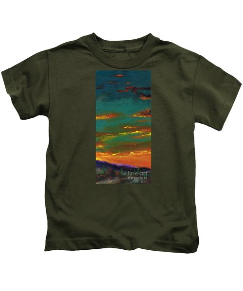 2nd In A Triptych Kids T-Shirt
