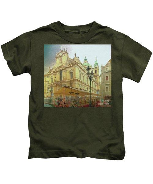 2nd Work Of St. Nicholas Church - Old Town Prague Kids T-Shirt