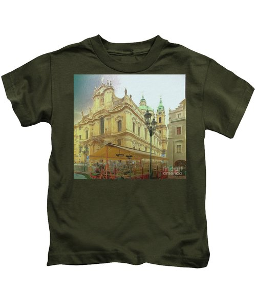 2nd Work Of St. Nicholas Church - Old Town Prague Kids T-Shirt