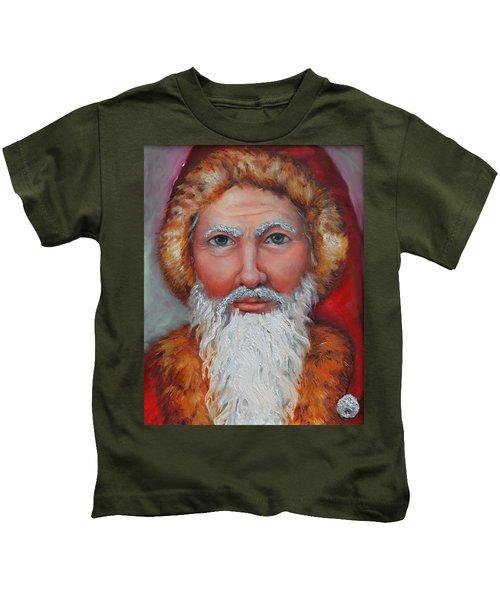3d Santa Kids T-Shirt