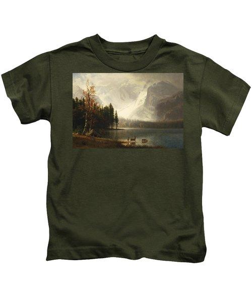 Estes Park, Colorado, Whyte's Lake Kids T-Shirt