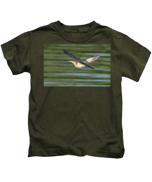 Least Bittern Kids T-Shirt
