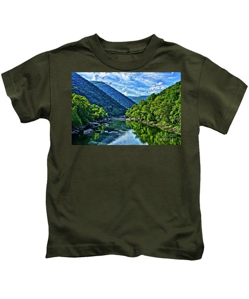 New River Gorge National River Kids T-Shirt