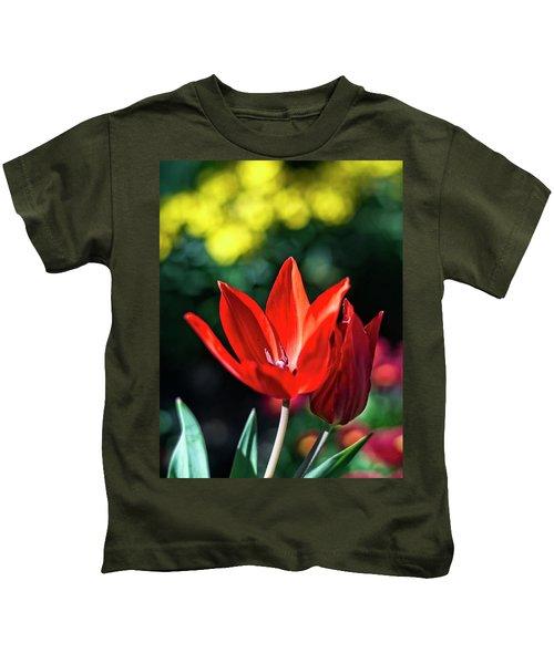Spring Garden Kids T-Shirt