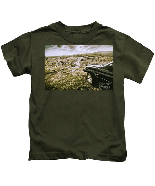 4wd On Offroad Track Kids T-Shirt