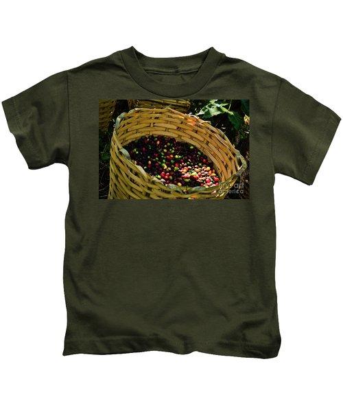 Coffee Culture In Sao Paulo - Brazil Kids T-Shirt