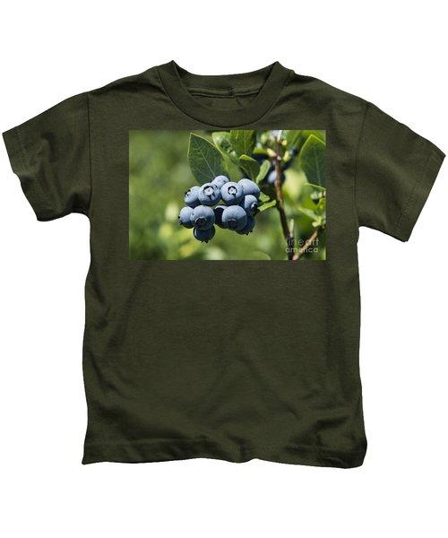Blueberry Bush Kids T-Shirt
