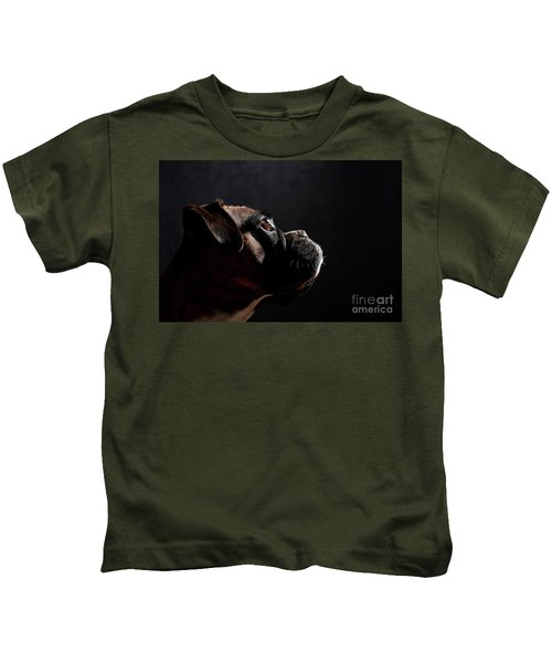 German Boxer Dog Kids T-Shirt