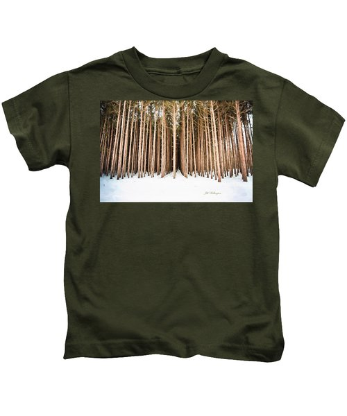Michigan Winter Kids T-Shirt
