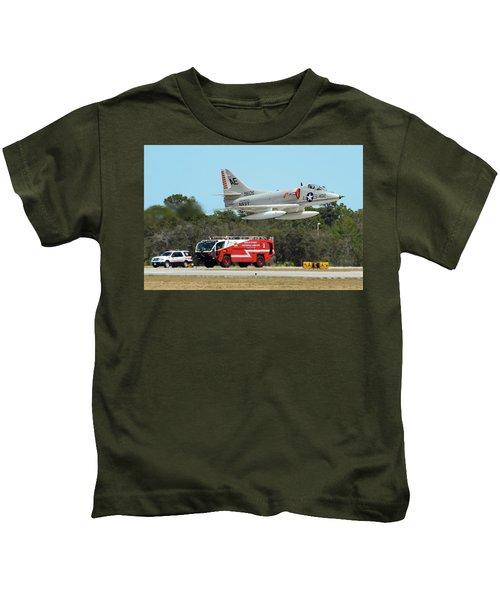 A-4 / Firetruck Kids T-Shirt