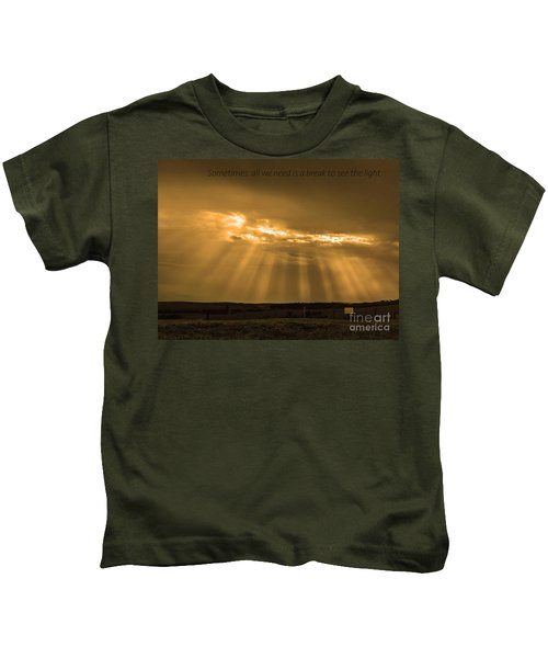 A Break Kids T-Shirt