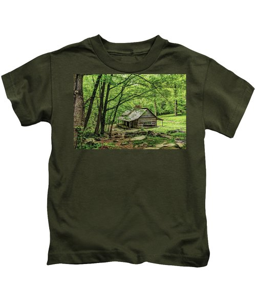 A Cabin In The Woods Kids T-Shirt