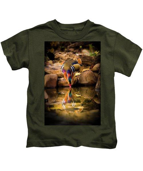A Cold Drink - Mandarin Drake Kids T-Shirt