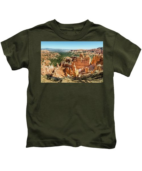 A Day In Bryce Canyon Kids T-Shirt