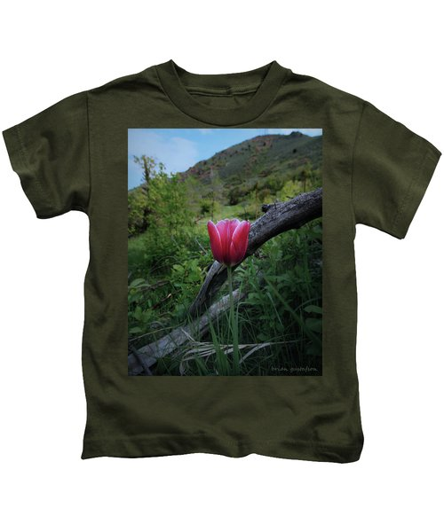 A Bloom With A View Kids T-Shirt