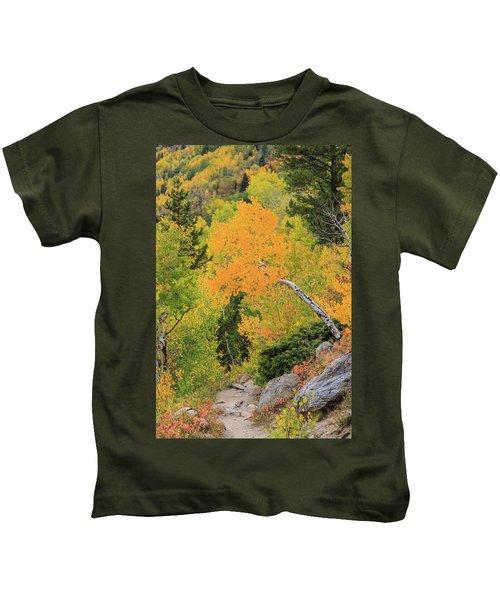 Yellow Drop Kids T-Shirt