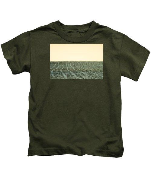 A Field Stitched Kids T-Shirt
