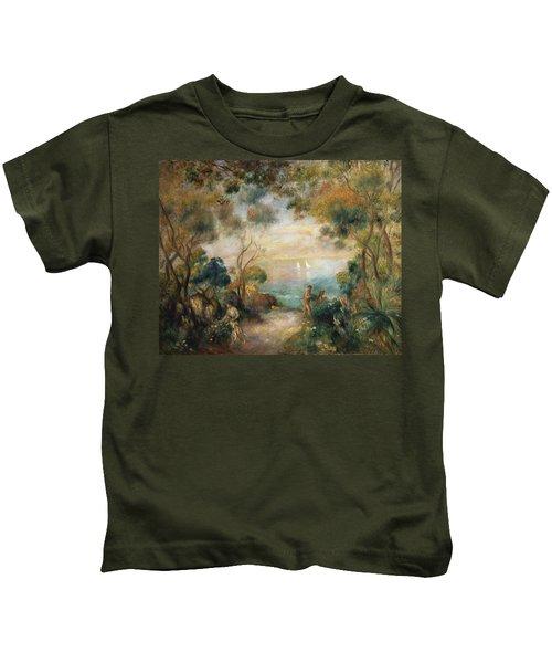 A Garden In Sorrento Kids T-Shirt