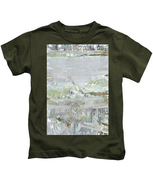 A Glass Half Full Kids T-Shirt
