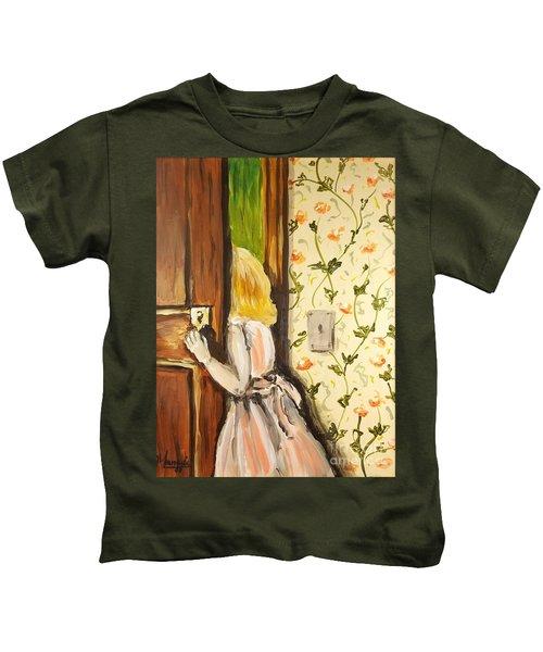 A Journey Begins Kids T-Shirt