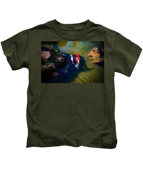 A Koi Romance Kids T-Shirt