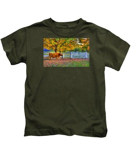 A Little Shaker Bull Kids T-Shirt