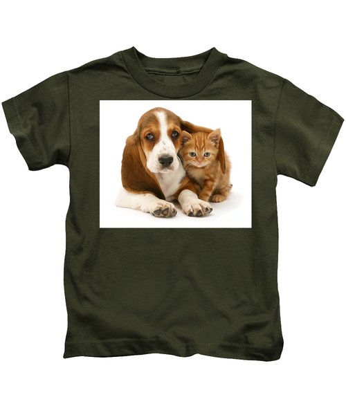 A New Meaning To Cat Flap Kids T-Shirt