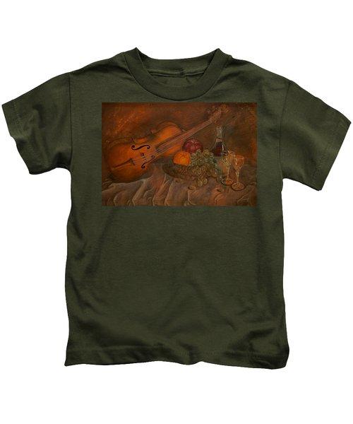 A Night Of Love Kids T-Shirt