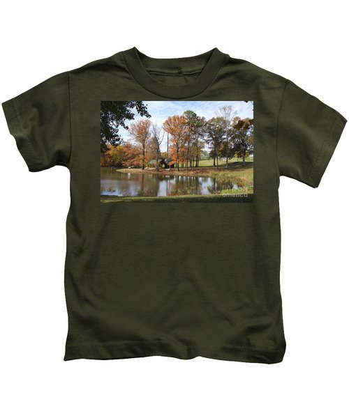 A Peaceful Spot Kids T-Shirt
