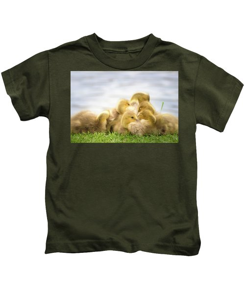 A Pile Of Goslings Kids T-Shirt