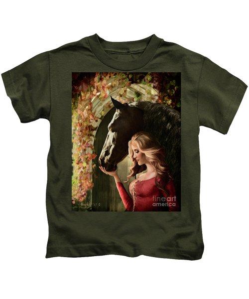A Secret Passage Kids T-Shirt