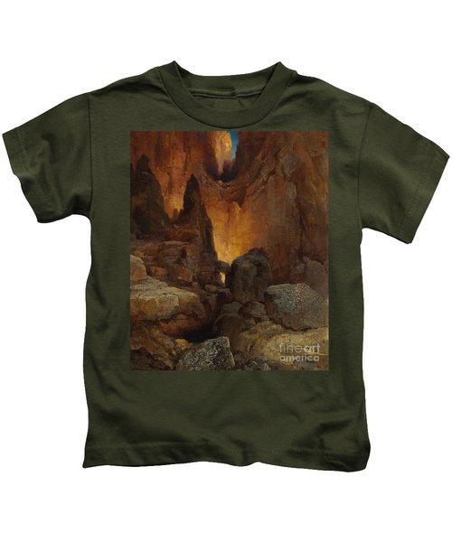 A Side Canyon, Grand Canyon Of Arizona Kids T-Shirt