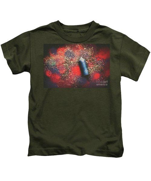 A Street Art Composition Kids T-Shirt