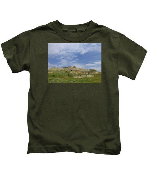 A Summer Day In Dakota Kids T-Shirt