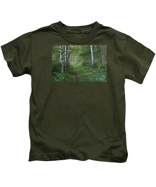 A Suspended Silence Where The Wild Things Are Kids T-Shirt