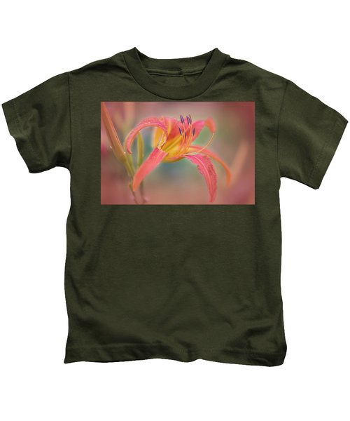 A Thing Of Beauty Lasts Only For A Day. Kids T-Shirt