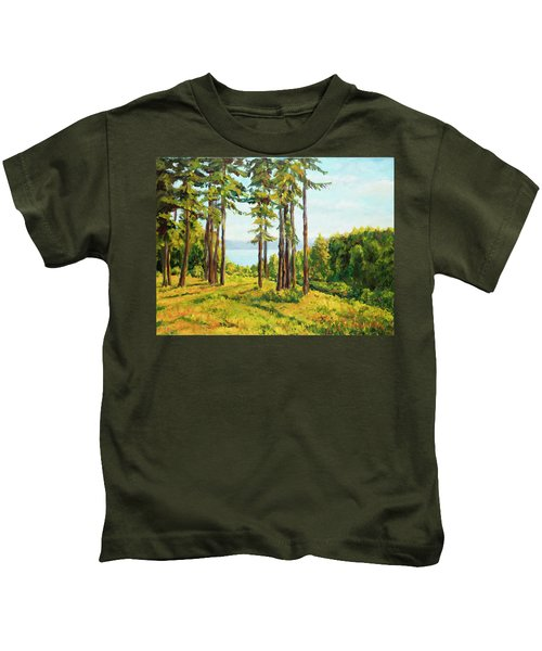 A View To The Lake Kids T-Shirt