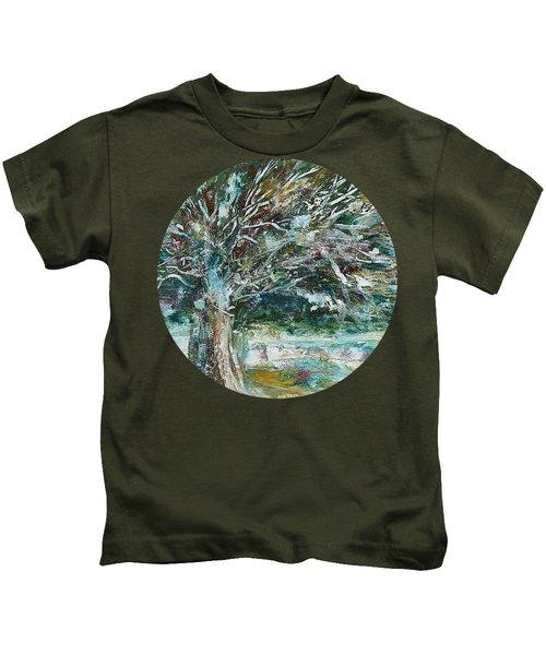 A Winter Tree Kids T-Shirt