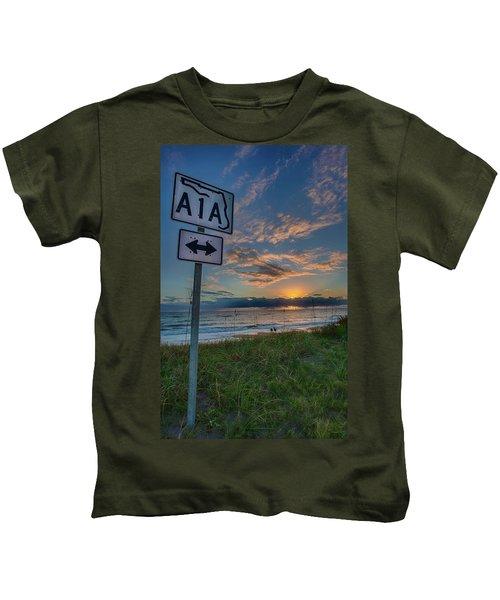 A1a Sunrise Kids T-Shirt