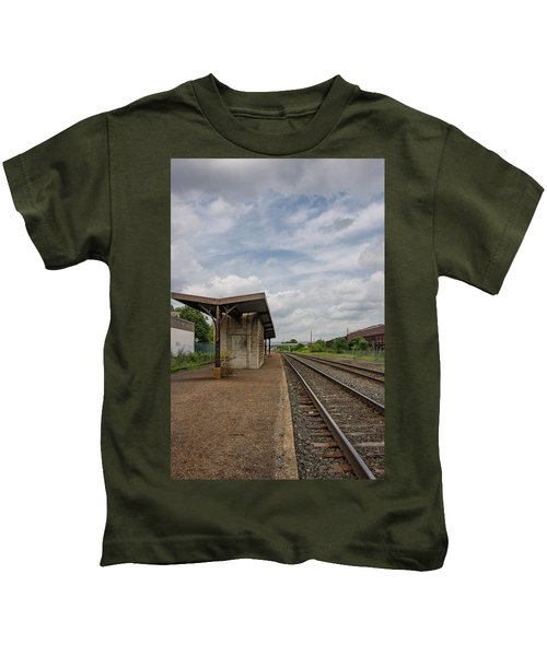 Abandoned Depot Kids T-Shirt